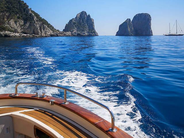 gita in barca positano
